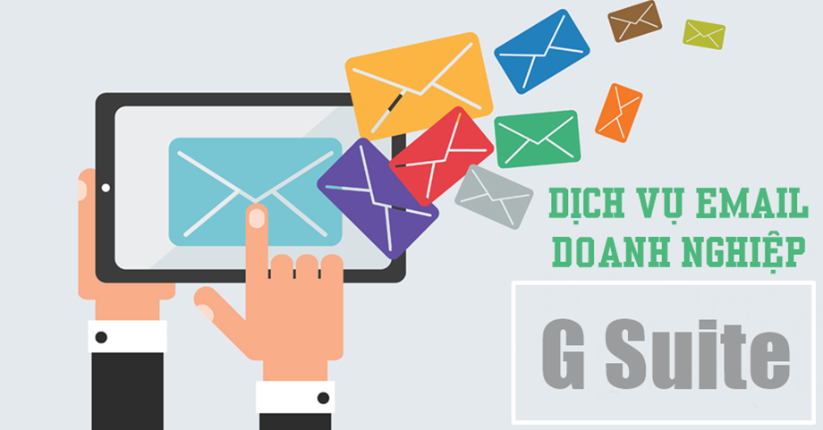 Dịch vụ Email cho doanh nghiệp G Suite