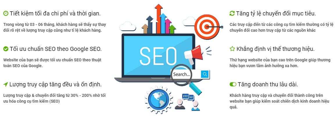 Dịch vụ SEO website lên TOP Google chất lượng