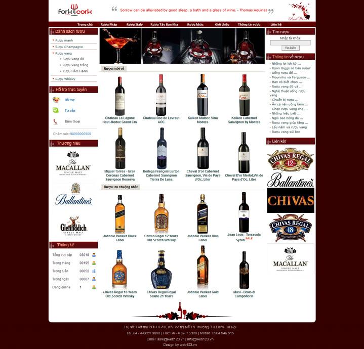 Thiết kế website giới thiệu sản phẩm dịch vụ